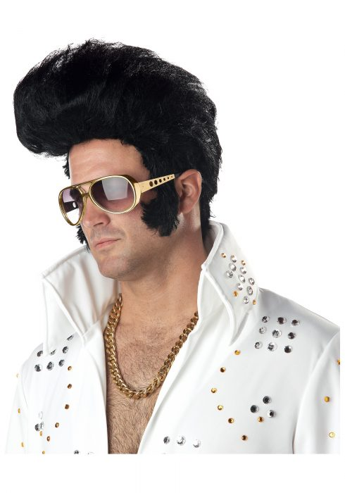 Rock Legend Costume Wig