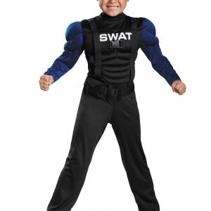 SWAT Toddler Muscle Costume