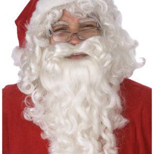 Santa Claus Wig and Beard Set