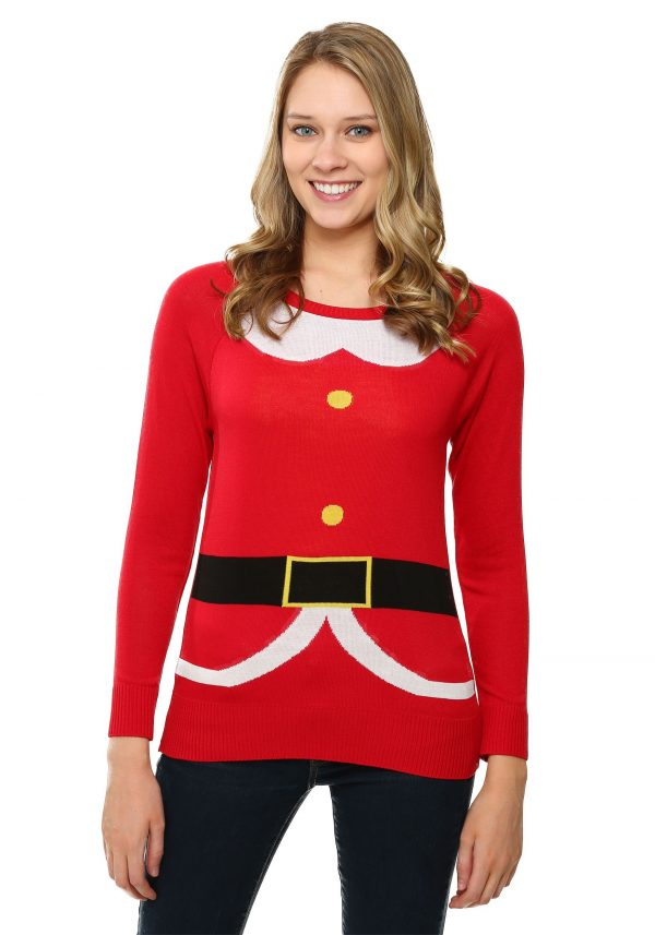 Santa Costume Pullover Sweater