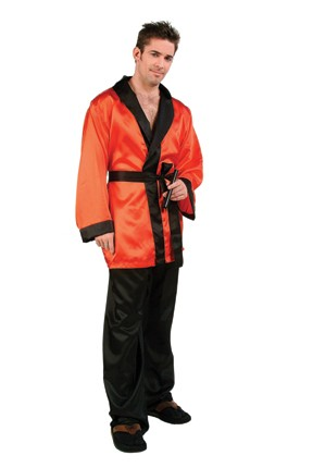 Satin Smoking Jacket