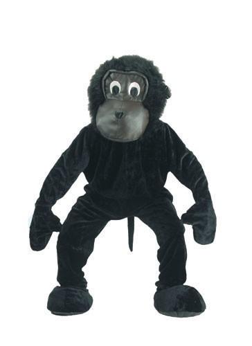 Scary Gorilla Mascot Costume