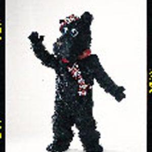 Scotty Dog Mascot Costume