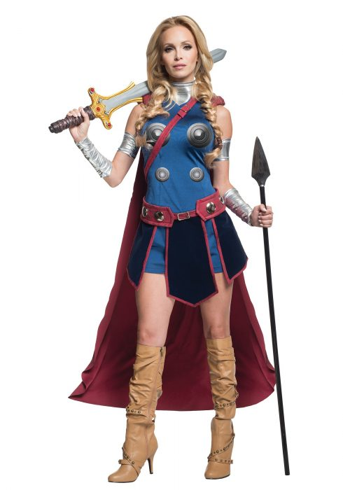 Secret Wishes Deluxe Valkyrie Costume