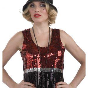 Sequin Flapper Hat