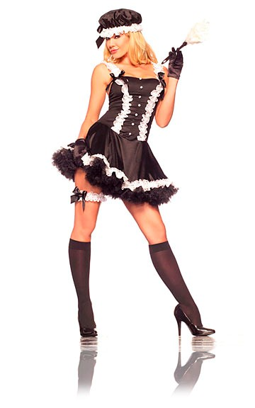 Sexy 5th Avenue Maid Costume