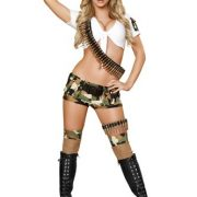 Sexy Army Costume - 5 pc