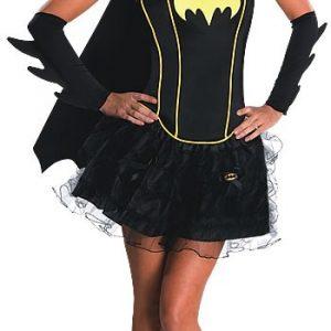 Sexy Batgirl Corset Costume