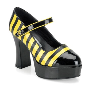 Sexy Bumblebee Shoes