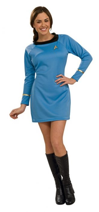 Sexy Classic Star Trek Dress - Blue