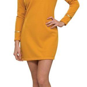 Sexy Classic Star Trek Dress - Gold