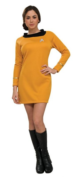 Sexy Classic Star Trek Dress - Gold