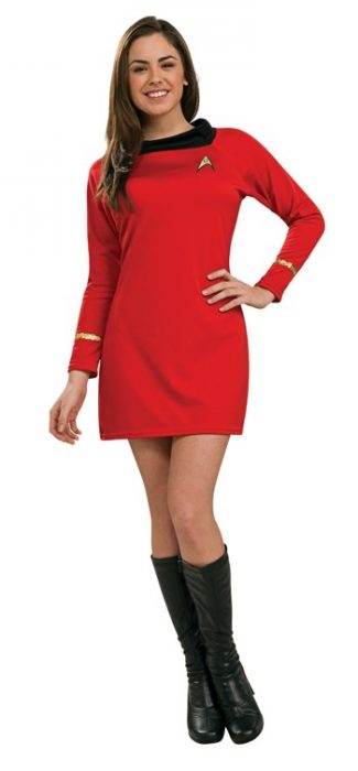 Sexy Classic Star Trek Dress - Red