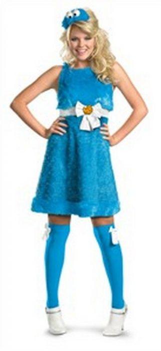 Sexy Cookie Monster Sesame Street Costume