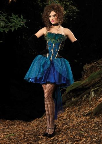 Sexy Deluxe Peacock Costume