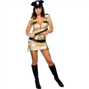 Sexy Deputy Johnson Costume