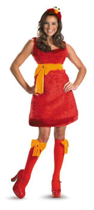Sexy Elmo Sesame Street Costume