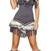 Sexy Eskimo Costume - 1pc