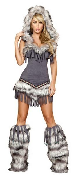 Sexy Eskimo Costume - 1pc
