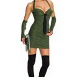 Sexy Green Hornet Costume