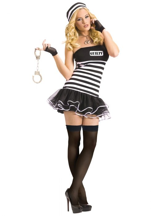 Sexy Guilty Prisoner Costume