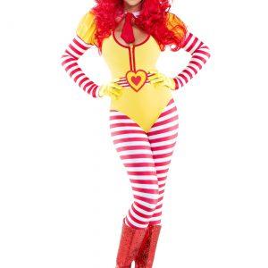 Sexy Hamburger Clown Costume