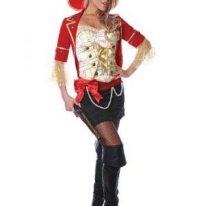 Sexy Lace Pirate Costume