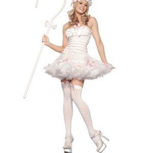 Sexy Lil Bow Peep Costume