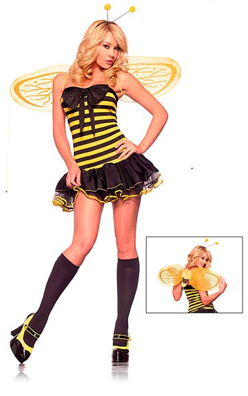 Sexy Lil Bumble Bee Costume
