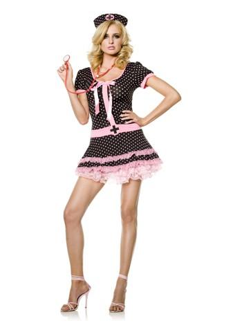 "Sexy ""Midnight Medic"" Nurse Costume"