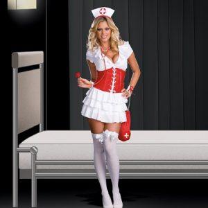 Sexy Naughty Nurse Costume