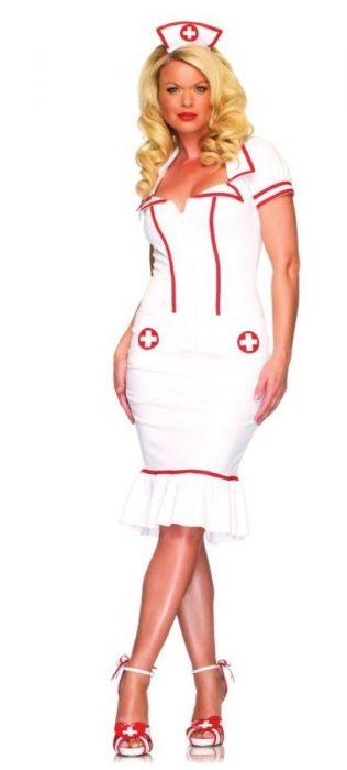 Sexy Nurse Costume - Miss Diagnosis