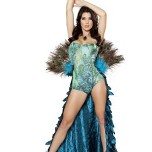 Sexy Peacock Costume - 2pc