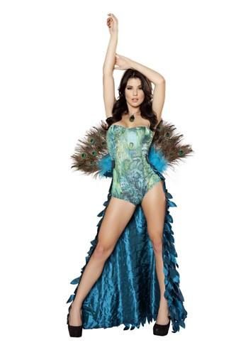 Sexy Peacock Costume - 2pc