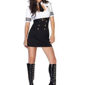Sexy Pilot Costume - First Class Captain