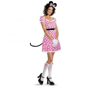 Sexy Pink Minnie Mouse Costume