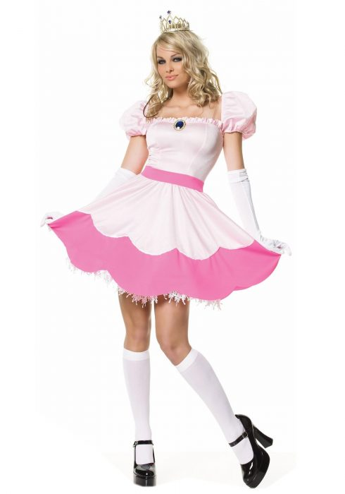 Sexy Pink Princess Costume