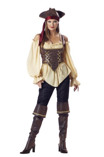 Sexy Pirate Costume – Rustic Pirate
