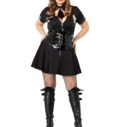 Sexy Plus Size Police Officer Costume