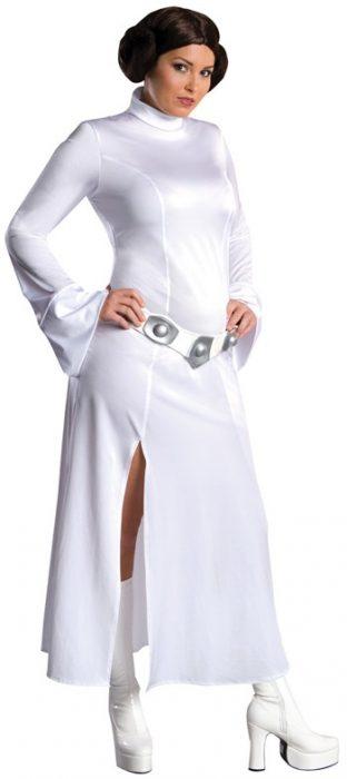 Sexy Plus Size Princess Leia Costume