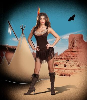 Sexy Pocahottie Costume