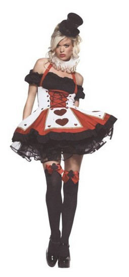Sexy Pretty Playing Card Costume