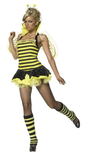 Sexy Queen Bumble Bee Costume