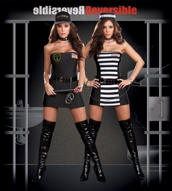 Sexy Reversible Crimes & Miss Demeanors Costume