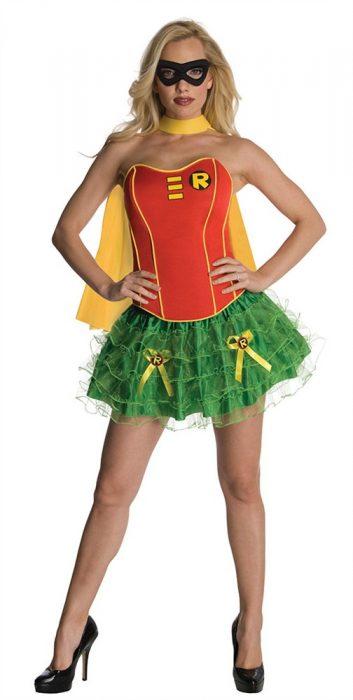 Sexy Robin Corset Costume