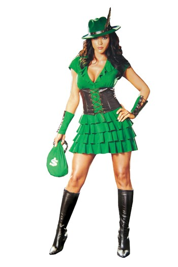 Sexy Robyn Da Hood Costume