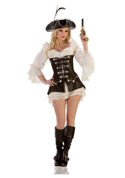 Sexy Rogue Pirate Costume