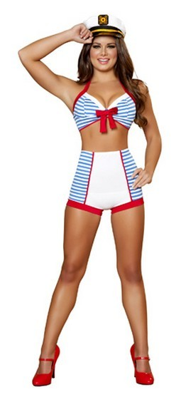 Sexy Sailor Costume - 3pc