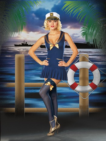 Sexy Sailor Costume - Seaside Pinup