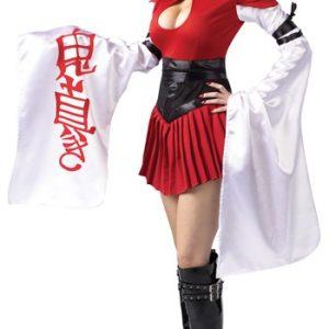 Sexy Samurai Geisha Costume